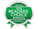2014 Readers Choice Award Best Restaurant Janesville