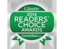 2014 Readers Choice Award Best Restaurant Janesville