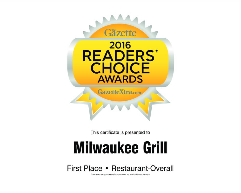 Best Restaurant | 2016 Janesville Gazette Readers Choice