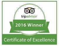 2016 Trip Advisor Certificate of Excellence Restaurant Janesville